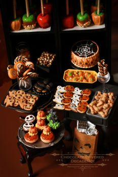 Halloween Treats by ChocolateDecadence