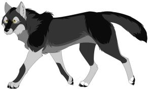 Gray Wolf ---Closed--- by SM-adopts