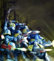 spacemarines know no fear by hattonslayden