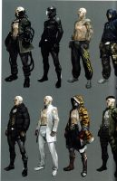 Jake RE6 Extra Costumes 1 by Sparrow-Leon