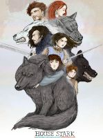 House Stark Loyalty by sketchditto