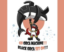 Go Orca Machine by OptimusPraino