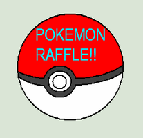 OPEN : POKEMON  RAFFLE by Violeta-Adopts
