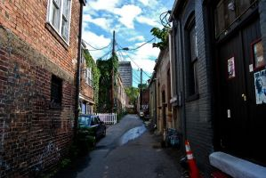 Asheville Alley 3 by Andashd