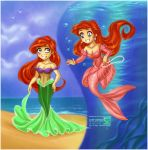 Ariel's Dresses by daekazu
