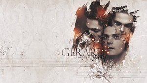 Wallpaper Gerard Way by minervaMCR