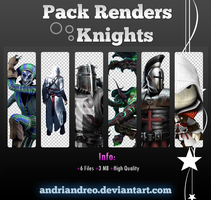 Knights render pack by Andriandreo