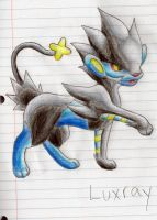 Luxray by LucarioAuraGuardian