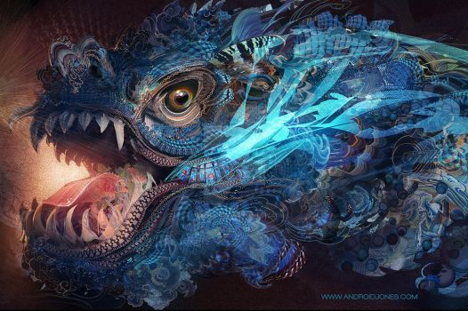 Water Dragon by Android-Jones