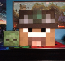 my minecraft head v3 by SgtBaconberry