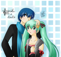 Melt -Miku and Kaito- by Ailish-Lollipop