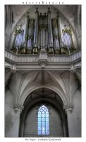 The Cathedrals Organ by real-creative