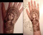 Hand Art 2-Mary by sadwonderland