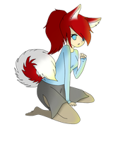 .:Strawberry the Husky:. by AsktheGirls