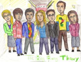 The Big Bang Theory by sgatlantisfan11