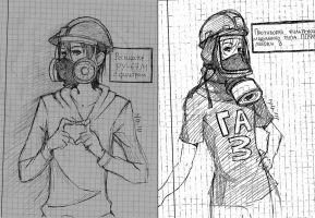 gas mask and respirator by matemi-i