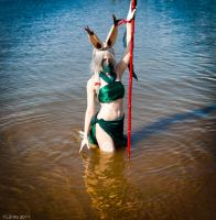 KatsuCon: Viera of the Lake by burloire
