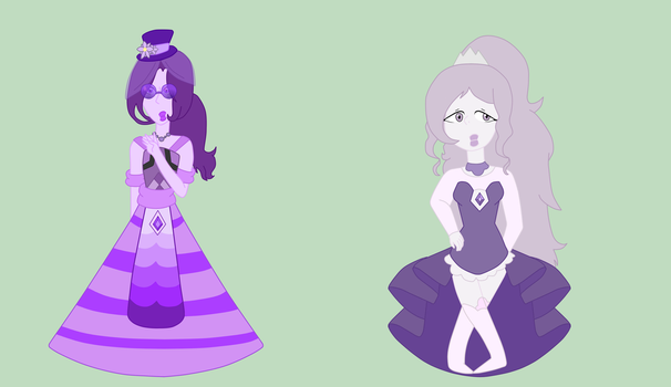 Purple and Lavender Diamond by HiroXReader