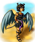 Egyptain!Pittoo by xBooxBooxBear