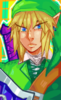 Link doodle by Sotherin