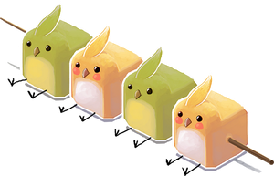 budgie mochi by dream-cup