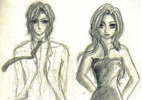 Rose and Dimitri by cristinaice