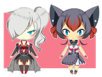 [ Poke Gijinka ADOPTS ] - Darkrai- Zorua {CLOSED} by PokeCardz