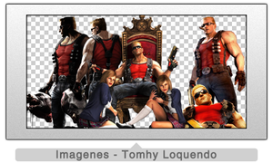 Pack Renders Duke Nukem by TomhyLoquendo