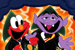 El-Mo and The Count by JonnyBCartoonMan