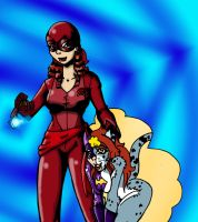 Rose BatCat Girl by CrazyCowProductions