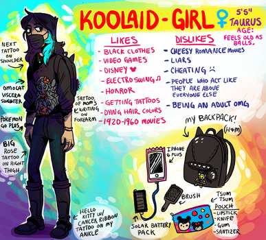 Meet The Artist: Koolaid-Girl by Koolaid-Girl