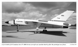 Avro Canada YF-109A Arrow by Bispro