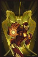 Iron Man cover by gatchatom