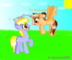Zoe Maldonado and Me -MLP [Whit effects] RQ by SpeedAtrsofPPG