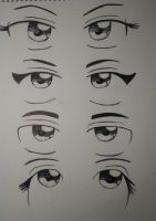Eye References 1 by Knightmare-Moon