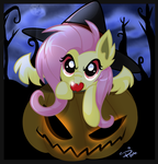 Pumpkinbat by Pomnoi