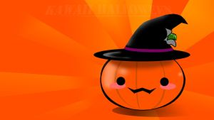 Kawaii Halloween Wallpaper by ArthurKremsier
