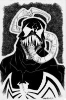 Sketch 047 of 100 VENOM by misfitcorner