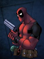 Collaboration: Deadpool by wrightauk