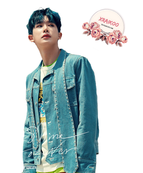 MONSTA X WonHo png / Render ( Shine Forever) by xRaikoo