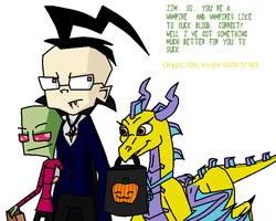 ZaDR and Oryps Halloween by Tallest-Ariva