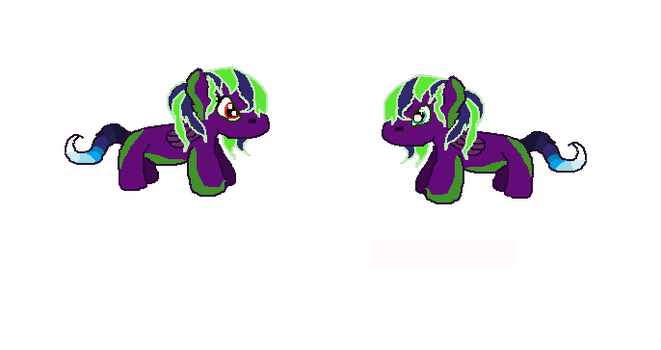The Twins-Galestorm and Maelstrom by Galeshine