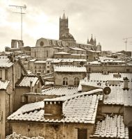 Snow on Siena 4 by vaporarium
