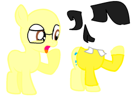 MLP Nobita/Noby Base by Puppies567