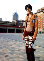 Attack on Titan - Eren Jaeger by Rixari