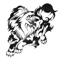 059 Tribal Arcanine by ShadowKira