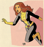 Kitty Pryde by BezerroBizarro
