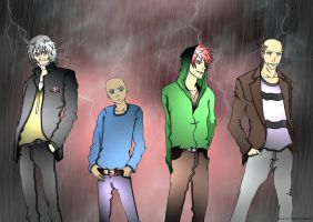 The Demonata Boys by Bleach-Red-Abyss3