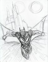 batman beyond sketch by beamer