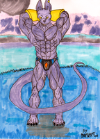 Body of A God (of Destruction) by MoonlightStrider